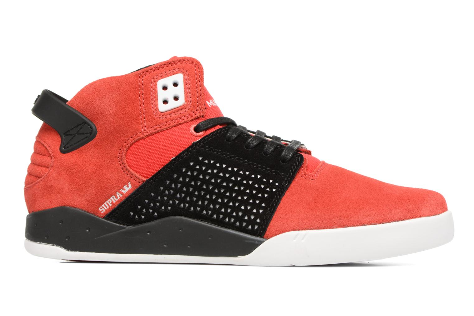 Sport shoes Supra Skytop III Red back view