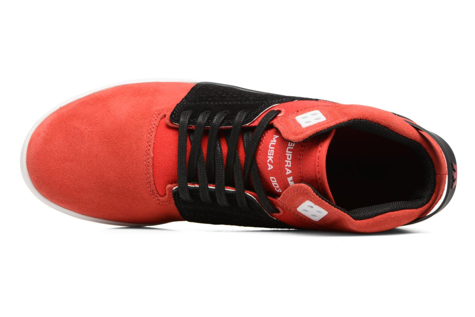 Sport shoes Supra Skytop III Red view from the left