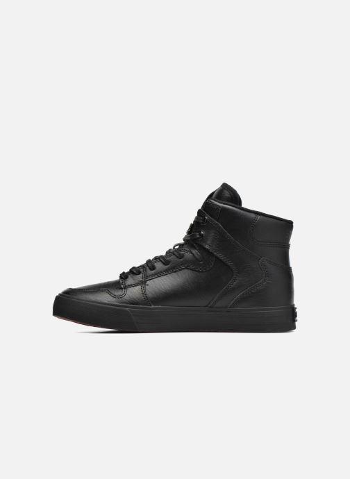 Sneaker Supra Vaider schwarz ansicht von vorne