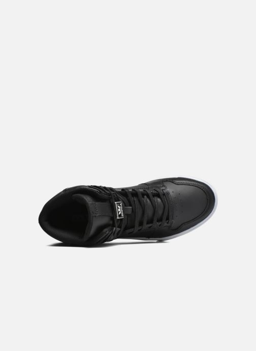 Sneaker Supra Vaider schwarz ansicht von links