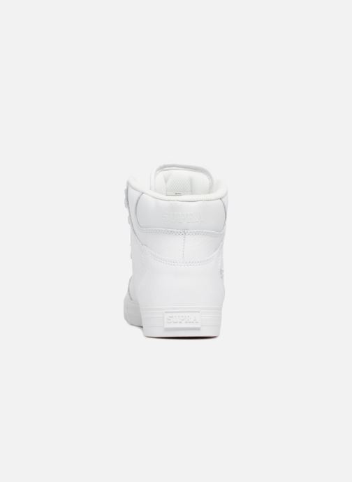 Trainers Supra Vaider White view from the right