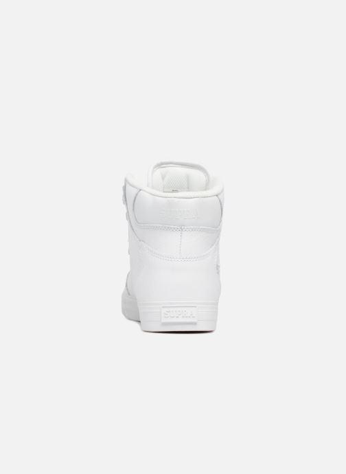 Baskets Supra Vaider Blanc vue droite
