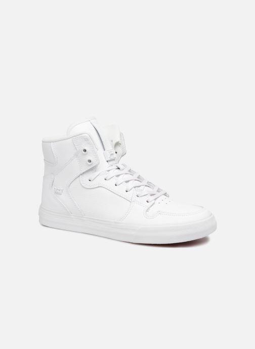 Baskets Supra Vaider Blanc vue détail/paire