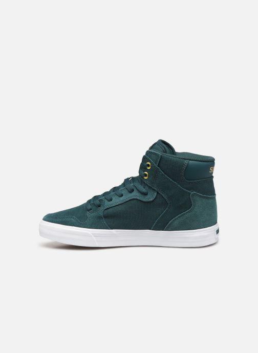 Sneaker Supra Vaider grün ansicht von vorne