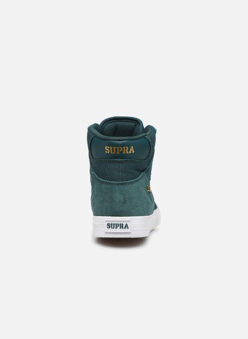 Sneaker Supra Vaider grün ansicht von rechts