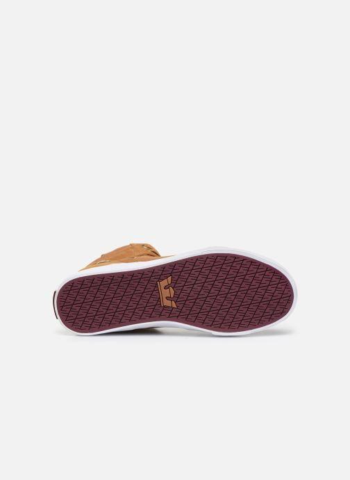 Sneaker Supra Vaider braun ansicht von oben