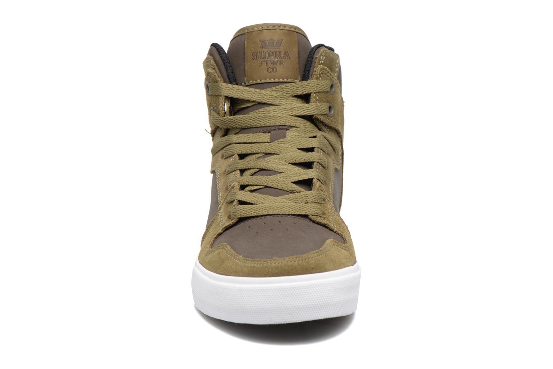 Baskets Supra Vaider Vert vue portées chaussures