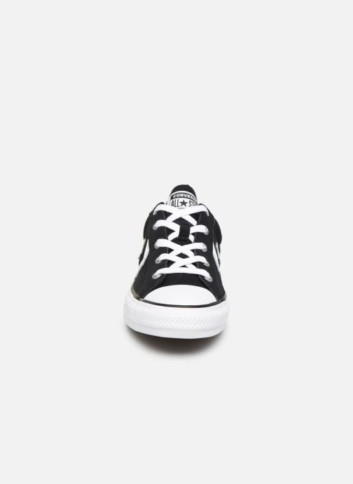 Baskets Converse Star Player Suede Ox W Noir vue portées chaussures