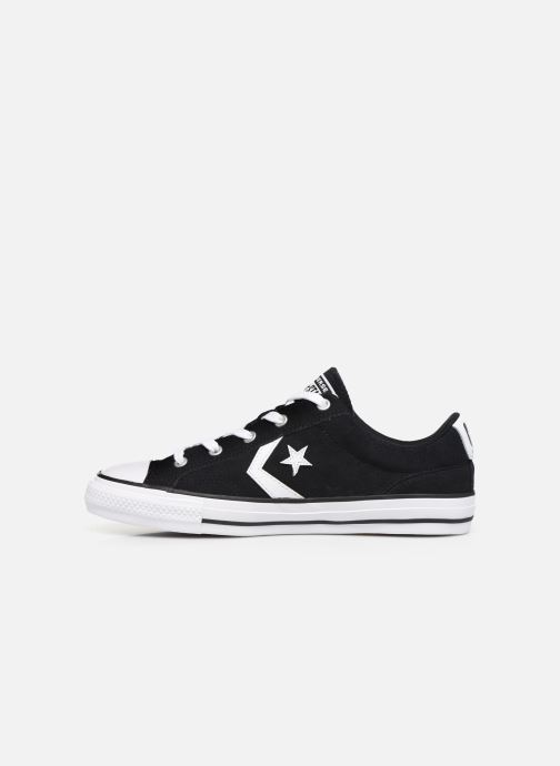 Trainers Converse Star Player Suede Ox W Black front view
