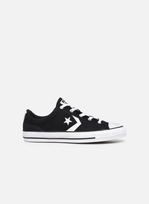 Trainers Converse Star Player Suede Ox W Black back view