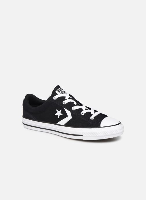 Trainers Converse Star Player Suede Ox W Black detailed view/ Pair view