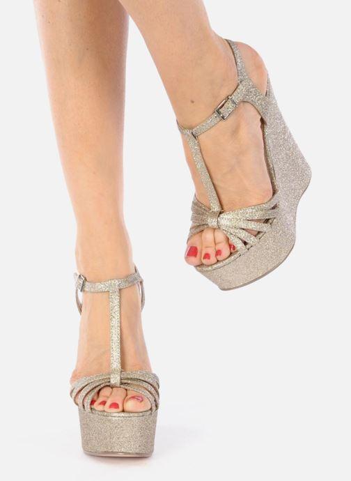 Sandali e scarpe aperte Carvela GLOWORM Beige immagine dal basso