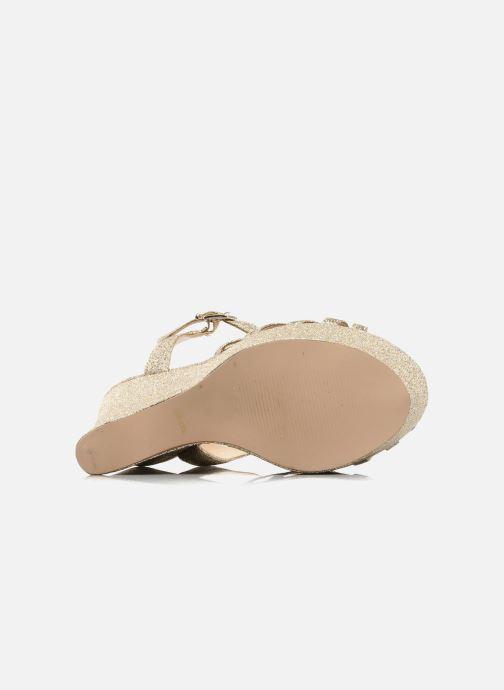 Sandali e scarpe aperte Carvela GLOWORM Beige immagine dall'alto