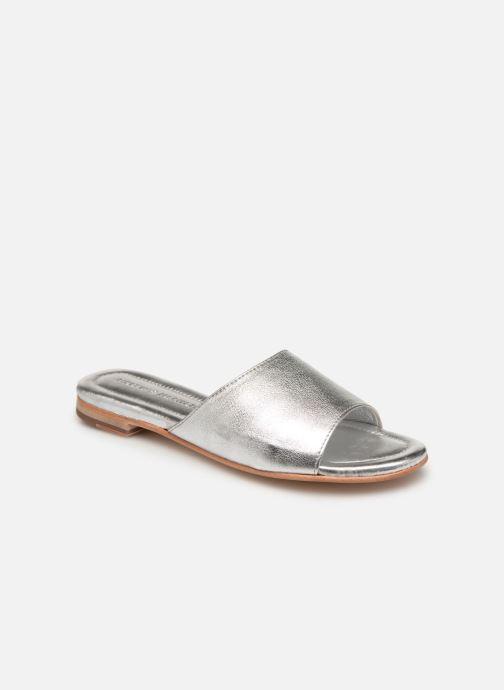 Clogs og træsko Melvin & Hamilton Hanna 5 Sølv detaljeret billede af skoene