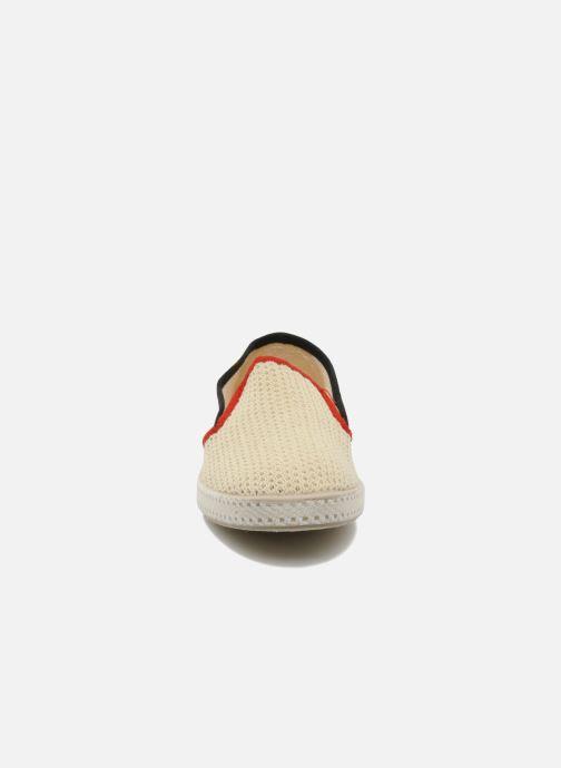 Espadrilles Rivieras Hot Rod Beige vue portées chaussures