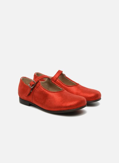 Ballerines start rite classics ANNABEL Rouge vue 3/4