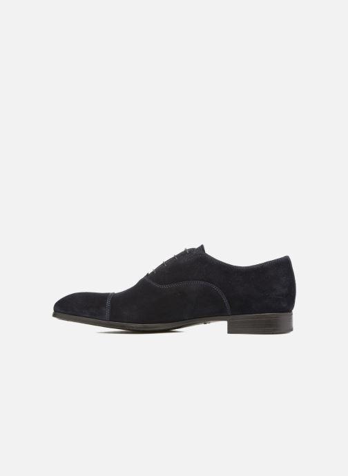 Chaussures à lacets Santoni Simon 11011 Bleu vue face