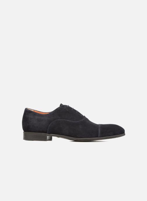 Chaussures à lacets Santoni Simon 11011 Bleu vue derrière