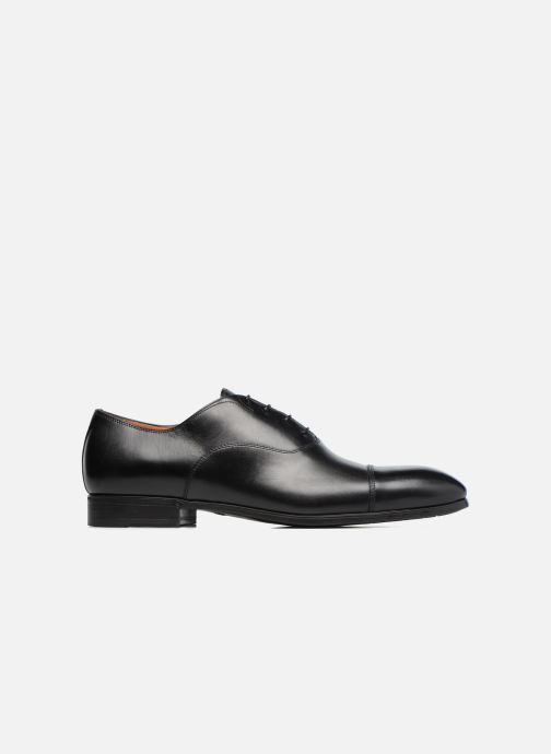 Lace-up shoes Santoni Simon 11011 Black back view