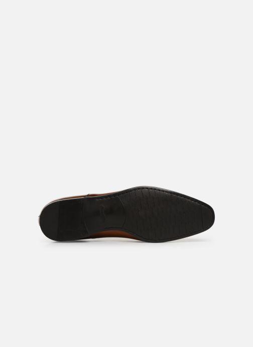 Zapatos con cordones Santoni Simon 11011 Marrón vista de arriba