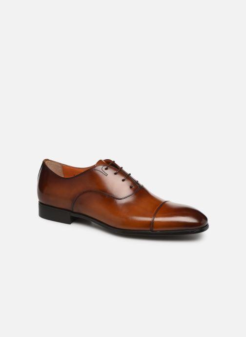 Zapatos con cordones Santoni Simon 11011 Marrón vista de detalle / par