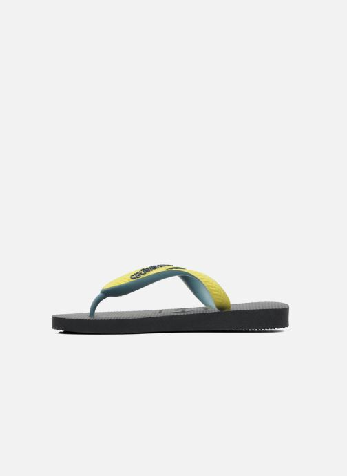 Tongs Havaianas Top mix Kid Noir vue face