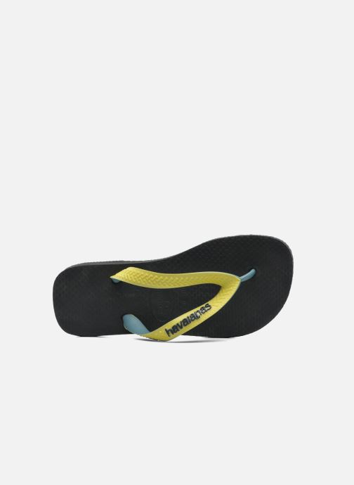 Tongs Havaianas Top mix Kid Noir vue gauche
