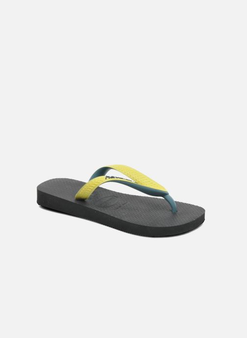 Tongs Havaianas Top mix Kid Noir vue détail/paire