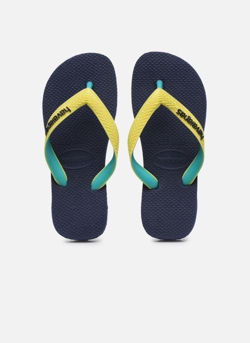 Tongs Havaianas Top mix Kid Bleu vue portées chaussures
