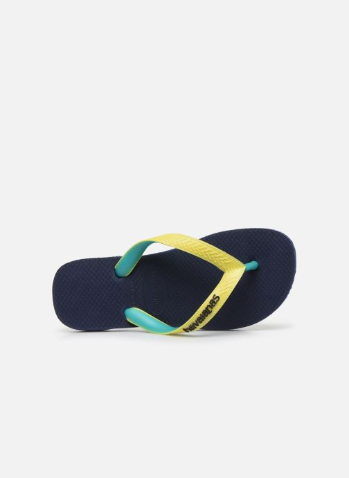 Chanclas Havaianas Top mix Kid Azul vista lateral izquierda