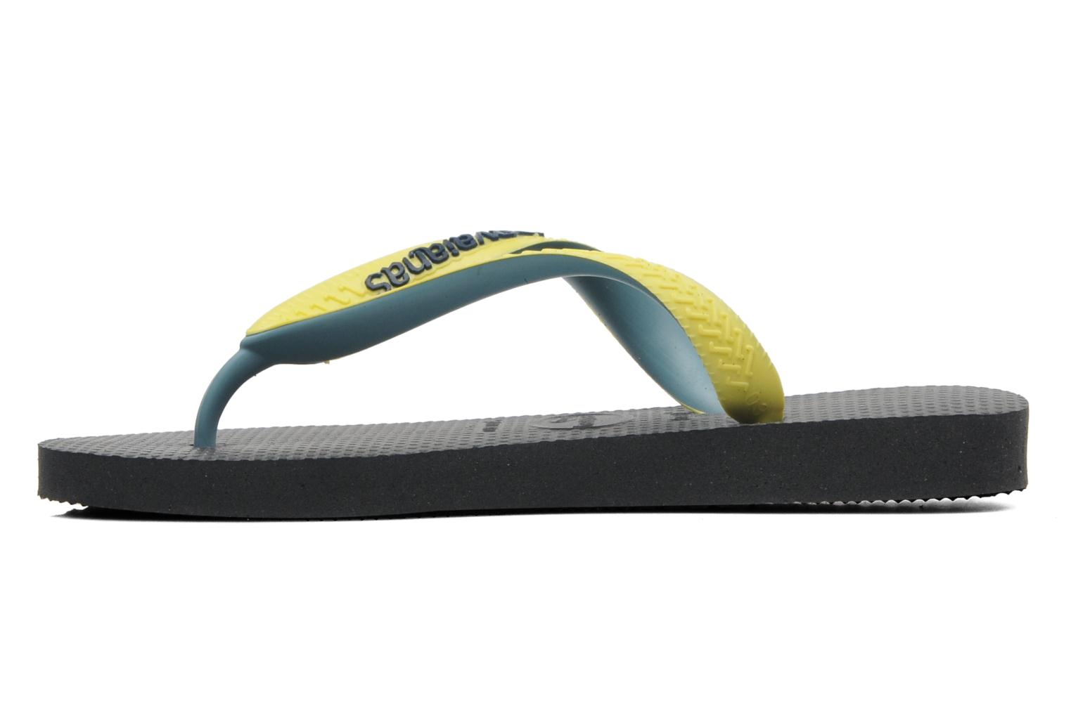 Chanclas Havaianas Top mix Kid Negro vista de frente