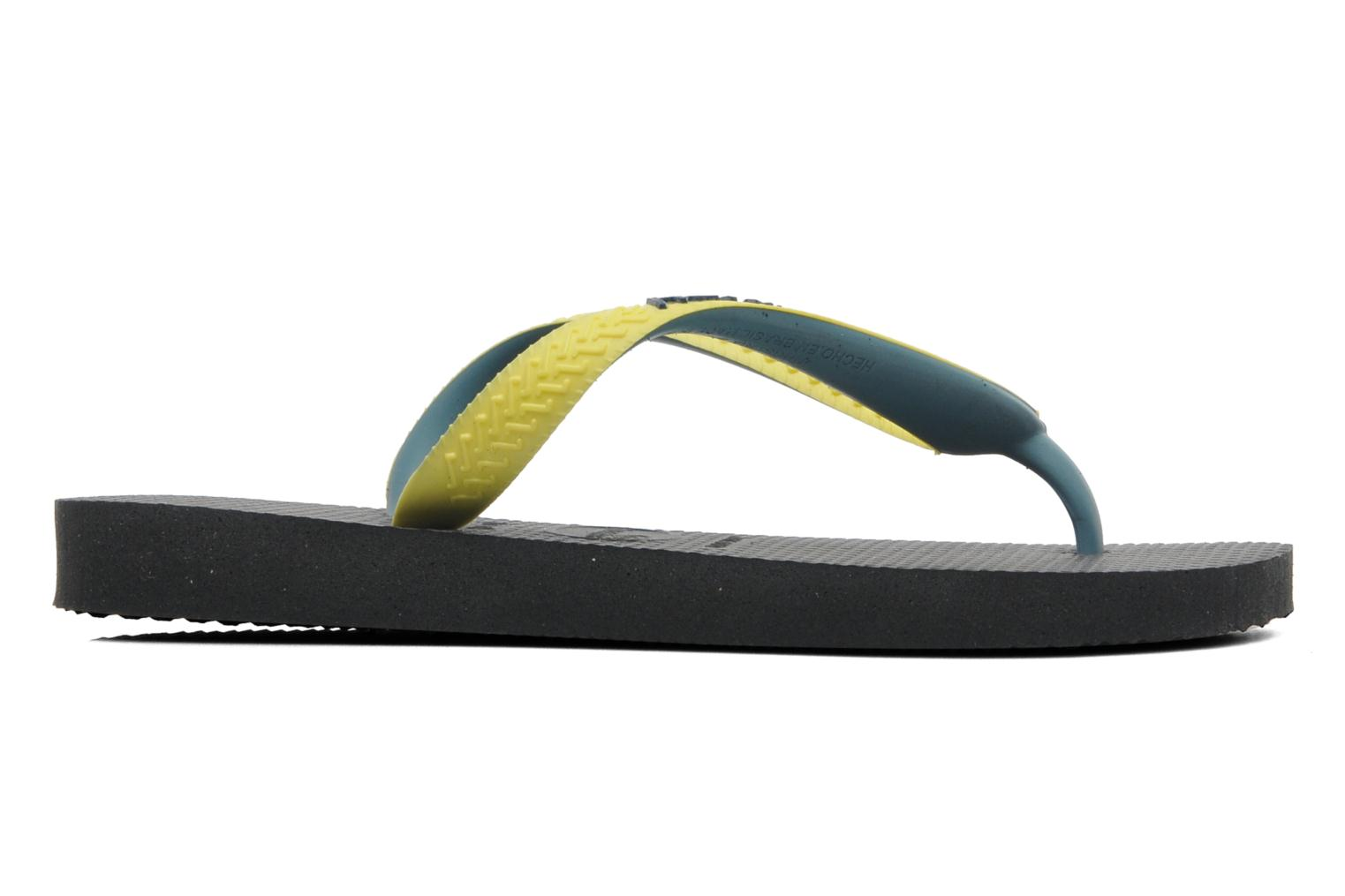 Chanclas Havaianas Top mix Kid Negro vistra trasera