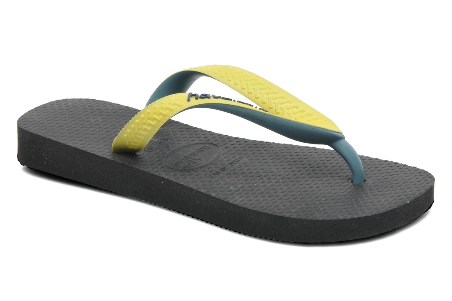 Chanclas Havaianas Top mix Kid Negro vista de detalle / par