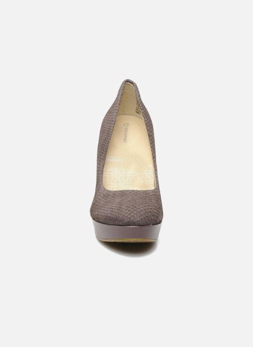 High heels Rockport Janae pump Purple model view