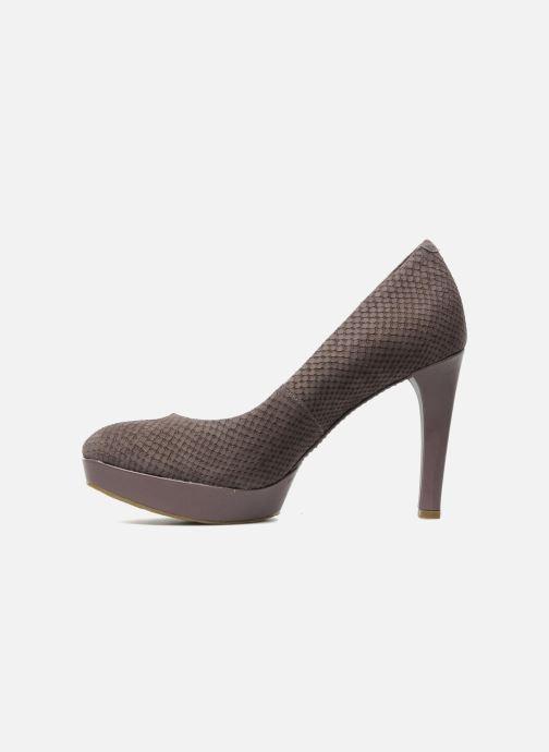 High heels Rockport Janae pump Purple front view