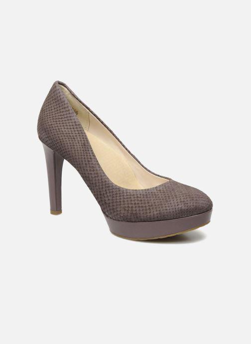 Høje hæle Rockport Janae pump Lilla detaljeret billede af skoene