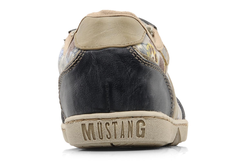 Baskets Mustang shoes Poky Bleu vue droite