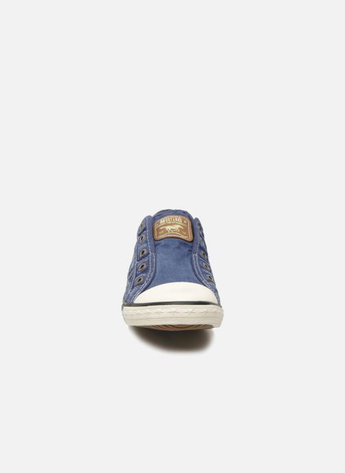 Sneakers Mustang shoes Marcus Blauw model