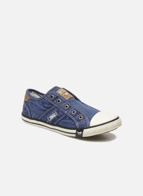 Sneakers Mustang shoes Marcus Blauw detail
