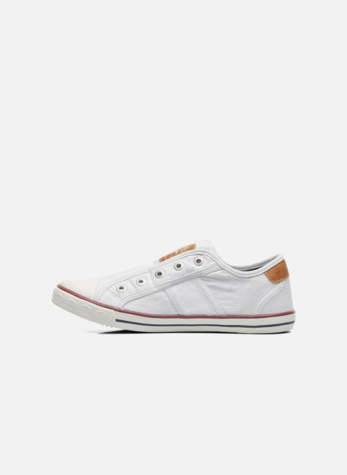 Baskets Mustang shoes Marcus Blanc vue face