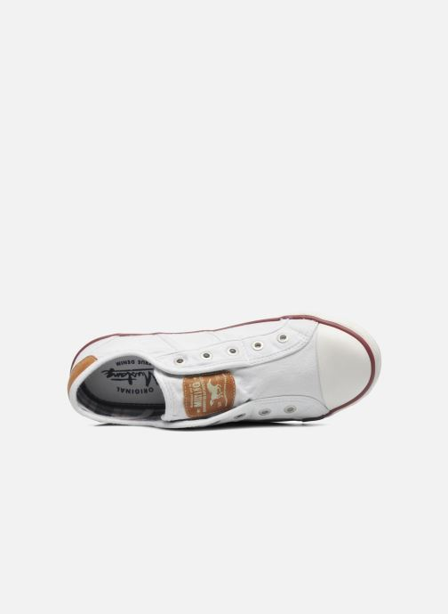 Sneakers Mustang shoes Marcus Bianco immagine sinistra