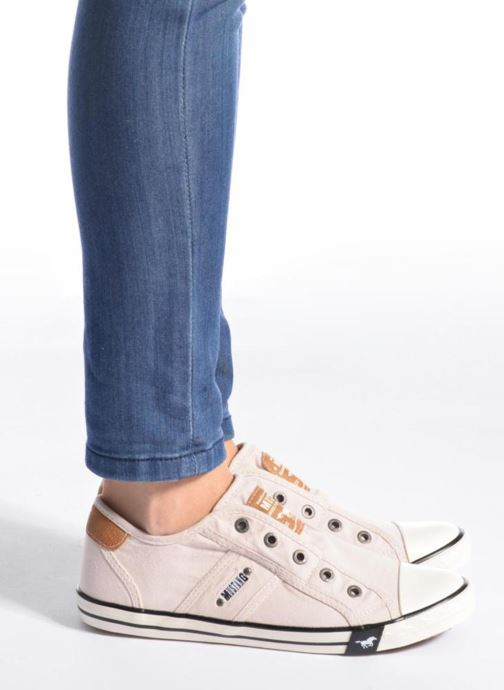 Sneakers Mustang shoes Marcus Azzurro immagine dal basso