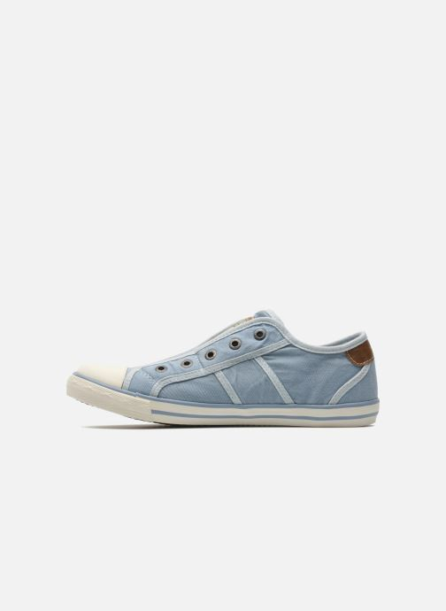 Sneakers Mustang shoes Marcus Azzurro immagine frontale