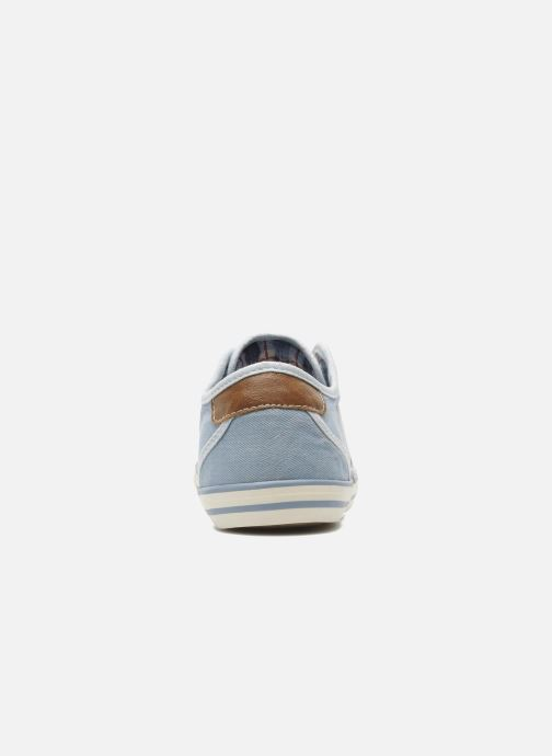 Sneakers Mustang shoes Marcus Azzurro immagine destra