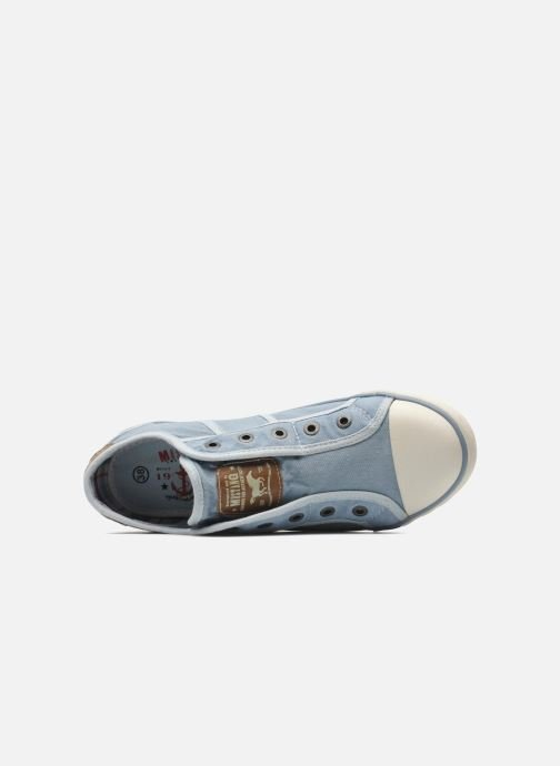 Sneakers Mustang shoes Marcus Azzurro immagine sinistra