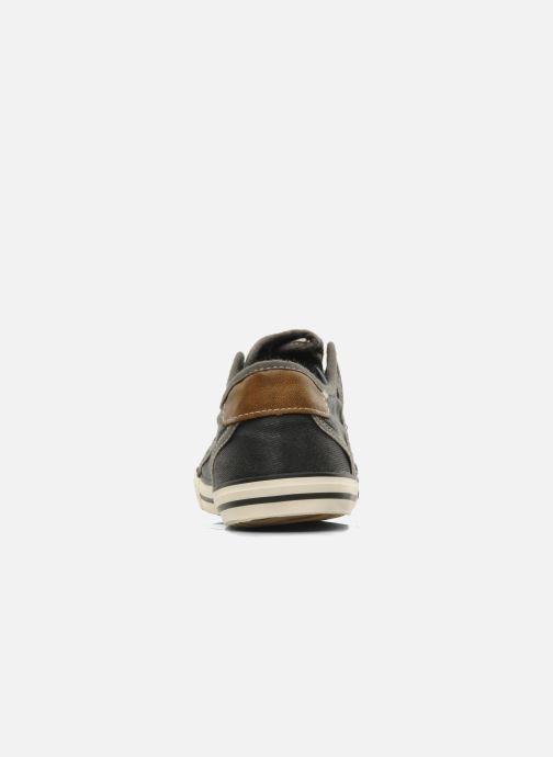 Sneaker Mustang shoes Marcus grau ansicht von rechts