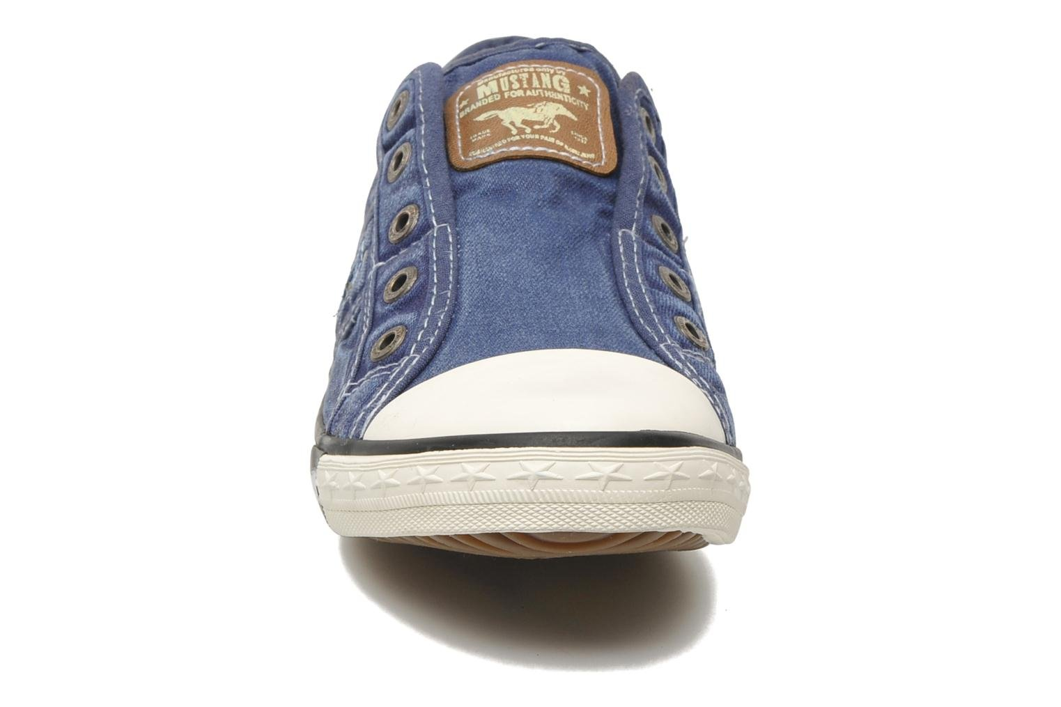 Trainers Mustang shoes Marcus Blue model view