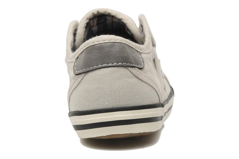 Baskets Mustang shoes Marcus Beige vue droite