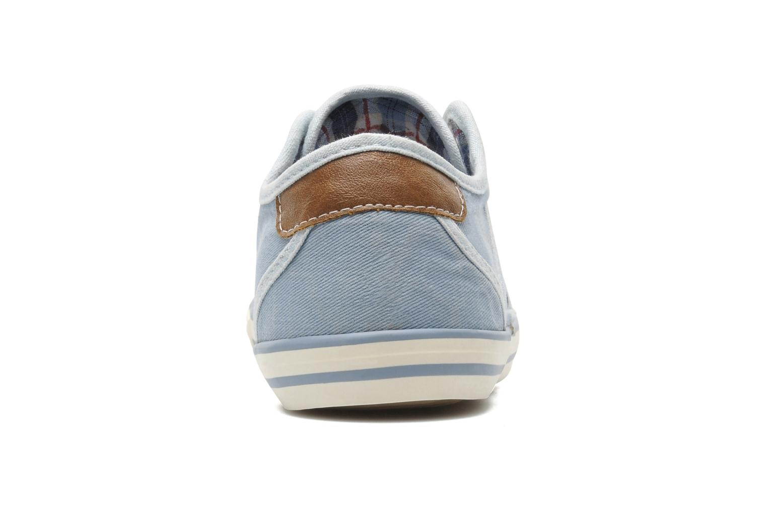 Trainers Mustang shoes Marcus Blue view from the right