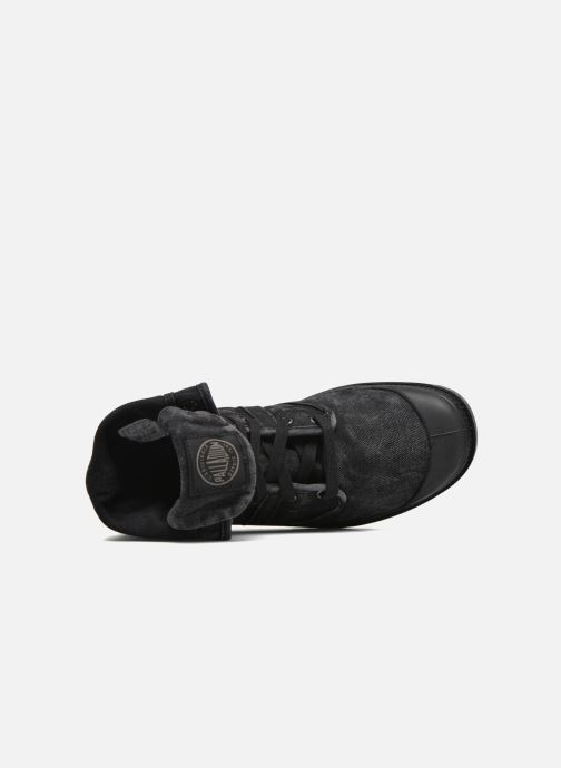 Sneakers Palladium Pallabrousse Baggy H Nero immagine sinistra